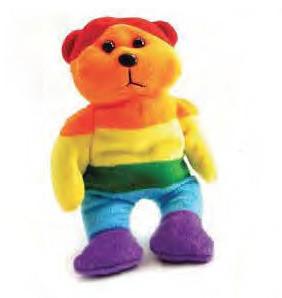 Gay pride Plush Full Rainbow Teddy Bear - LGBT lesbian Gifts - Lesbian and Gay Gift #gift