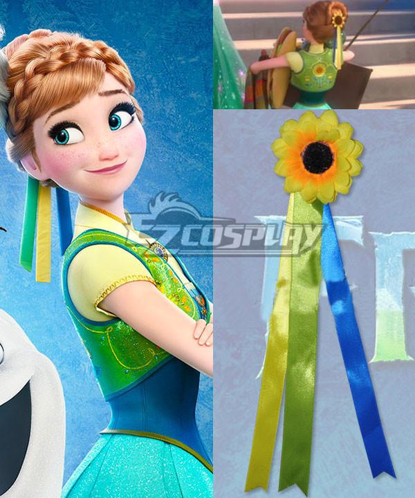 2015 Short Disney Film Frozen Fever Anna Birthday Gift Anna Fever Cosplay Headwear #gift