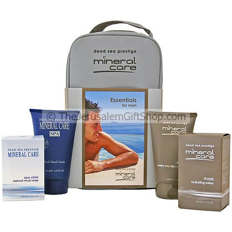 Mineral Care - Essentials for Men - Gift Pack with carrying case includes: Hydrating Lotion A non-greasy facial moisturizer specially designed to retain your skin moisture levels all day long Size: 50 ml / 1.7 Fl Oz Every Day Face wash A delightful foamin #gift