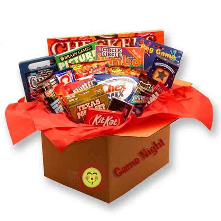 Help them create new family memories by sending this Family Game Night care package. Filled with a variety of fun games and tasty treats, they'll be reminded that nothing is more precious than time spent together. This gift encourage one night a week of f #gift