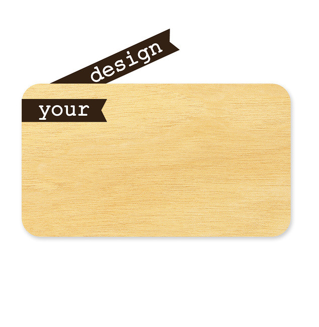 Create your own:Wood Business CardWood Calling CardWood Gift CertificateWood Place Card #gift