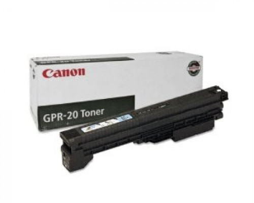 The Genuine (OEM) Canon GPR-20BK (1069B001AA) Black Copier Toner is designed to produce consistent, sharp output from your Canon printer (see full compatibility below). The original name brand Canon GPR-20BK 1069B001AA GPR20BK Copier Toner is engineered a #%20