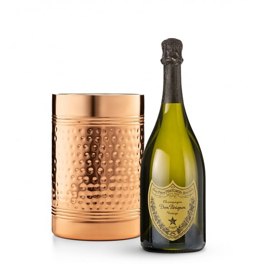 Send your best wishes with a gift of champagne & chocolate. This timeless gift is packaged in a Queen Anne chiller that makes a prestigious presentation. Surprise that special someone with a very special gift. #gift