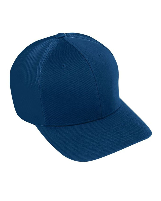 Augusta Sportswear AG6301 Youth Flex Fit Vapor Cap - Navy/ Navy - One Size #vapor