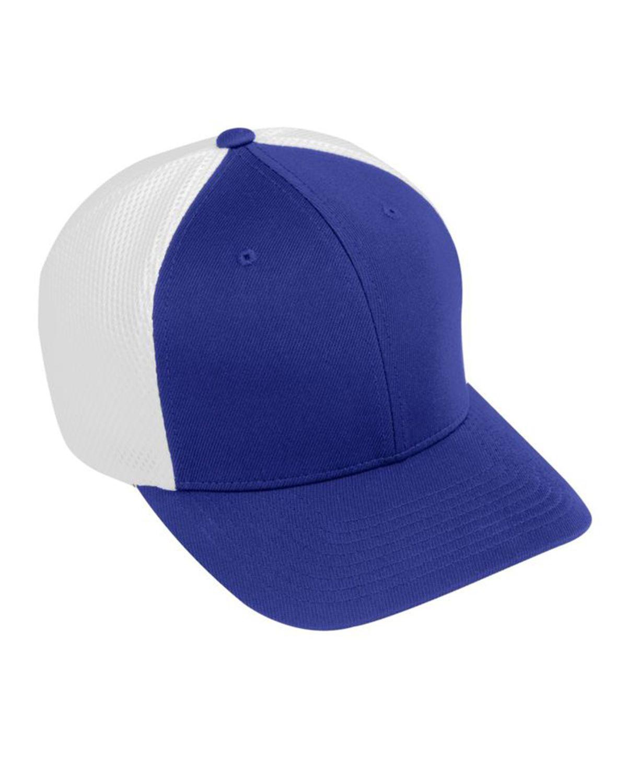 Augusta Sportswear AG6301 Youth Flex Fit Vapor Cap - Purple/ White - One Size #vapor