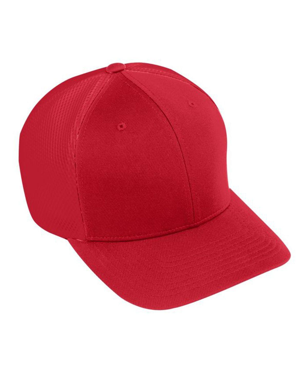 Augusta Sportswear AG6301 Youth Flex Fit Vapor Cap - Red/ Red - One Size #vapor