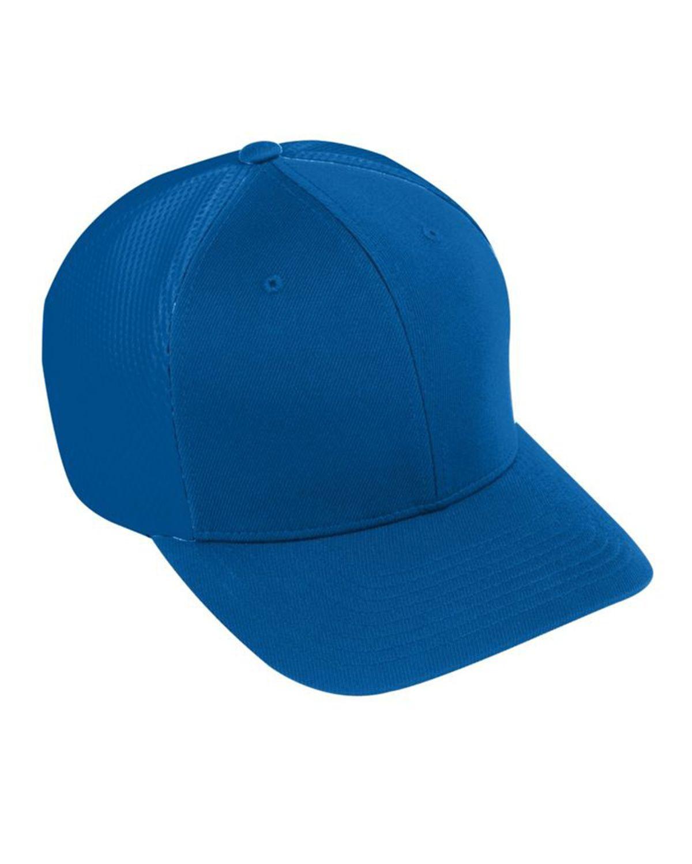 Augusta Sportswear AG6301 Youth Flex Fit Vapor Cap - Royal/ Royal - One Size #vapor