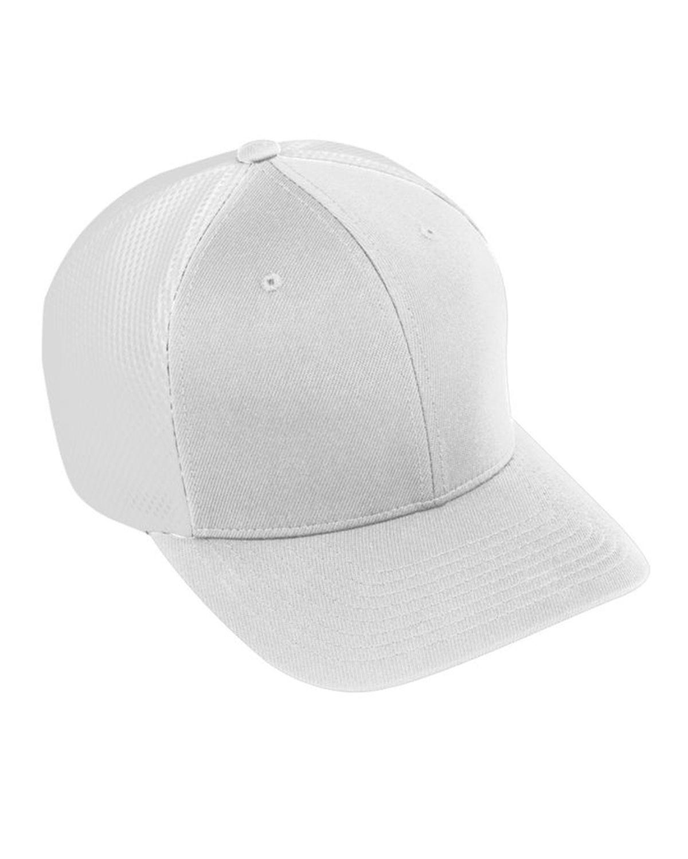Augusta Sportswear AG6301 Youth Flex Fit Vapor Cap - White/ White - One Size #vapor