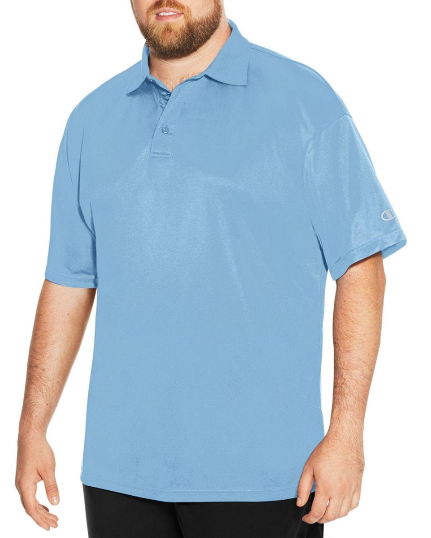 Champion Ch407 Men's Vapor Big & Tall Short-Sleeve Polo - Candid Blue - XLT #vapor