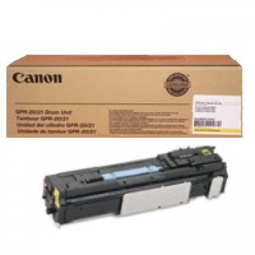 The Genuine (OEM) Canon 0255B001AA (GPR-20 / GPR-21DRY) Yellow Drum - Warranty by Canon is designed to produce consistent, sharp output from your Canon printer (see full compatibility below). The original name brand Canon GPR-20 Yellow Drum 0255B001AA GPR #%20